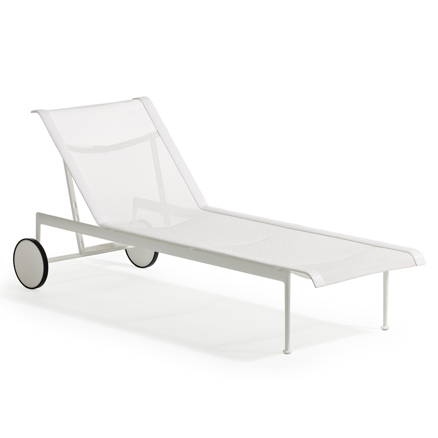 outdoor chaise lounge chairs with wheels dinette arms 1966 adjustable knoll
