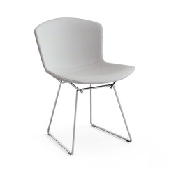 Bertoia Side Chair Steel Size With Full Cover Knoll