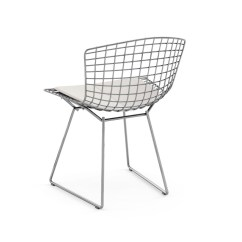 Black Wire Chair Bean Bag Chairs Bertoia Side Knoll Show Additional Images