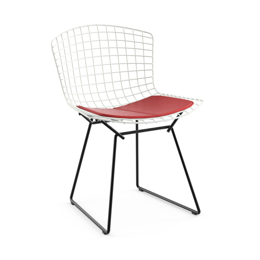 bertoia side chair land of nod high doll two tone knoll