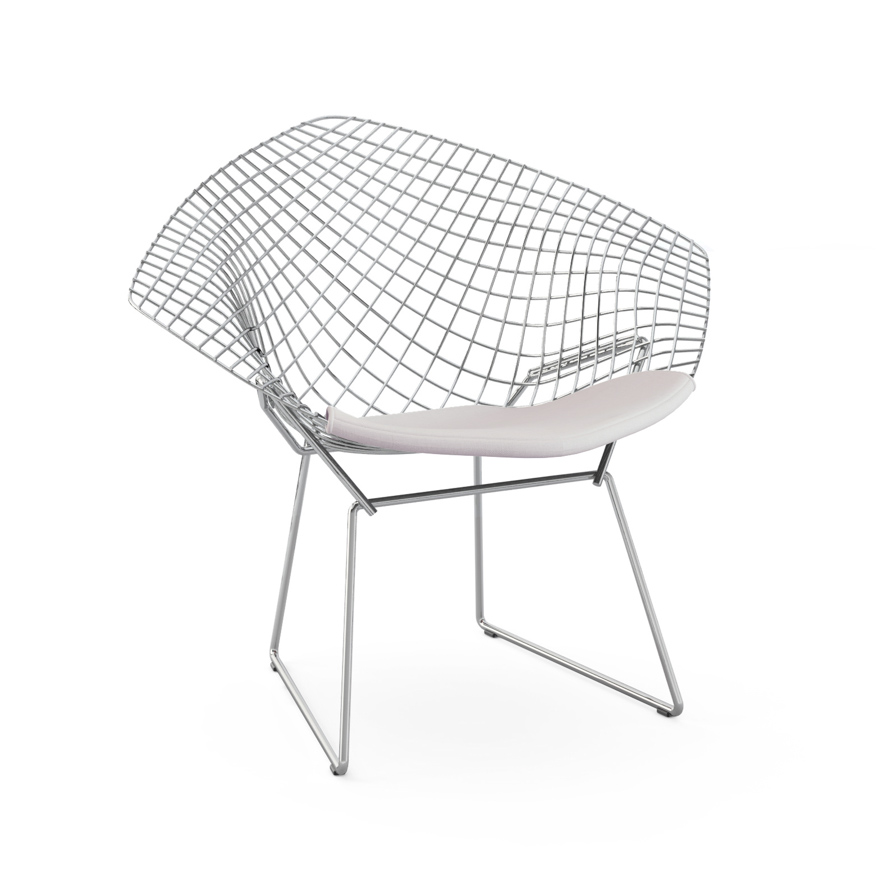 bertoia wire chair original kingcamp folding quad diamond knoll
