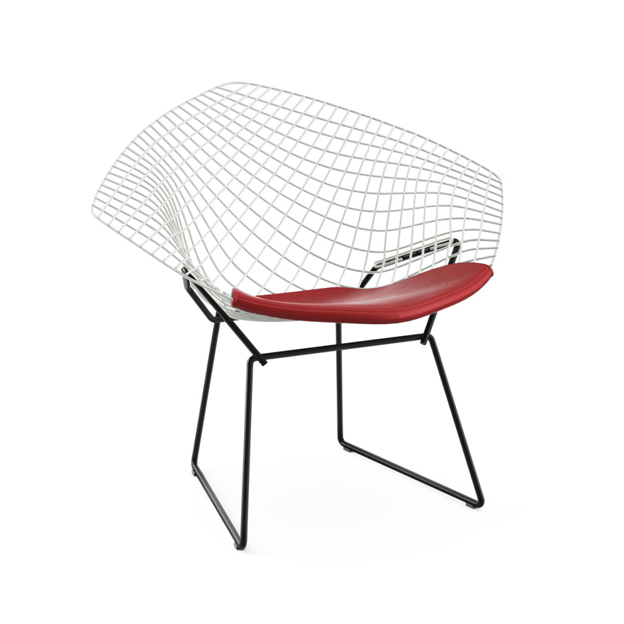 Bertoia Diamond Chair Full Cover chair contemporary harry