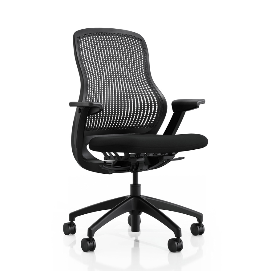 office chair price white makeup regeneration by knoll ergonomic