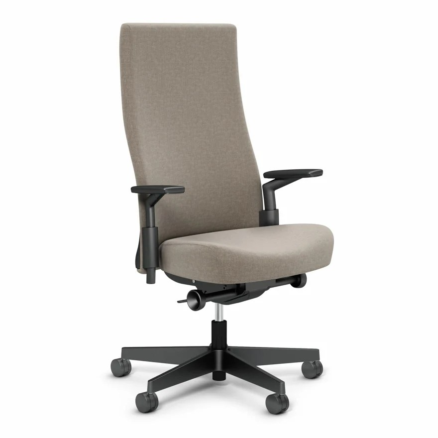 high back chairs with arms table and chair rental birmingham al remix ergonomic knoll
