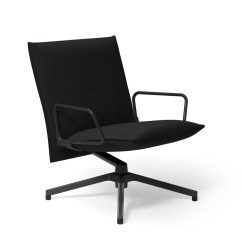 Chair With Arms Office Pedestal Pilot By Knoll Low Back Lounge