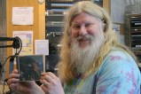 Dave with a CD