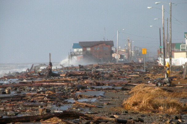 Storm of 2004: Front Street, Nome
