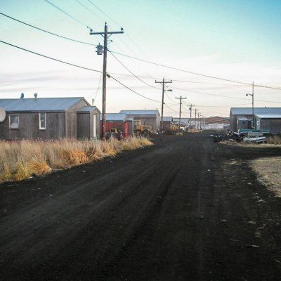 Stebbins, Alaska in October 2004. Photo: Rob Lef, Creative Commons