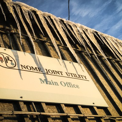Nome Joint Utility. Photo: Matthew F. Smith, KNOM file.