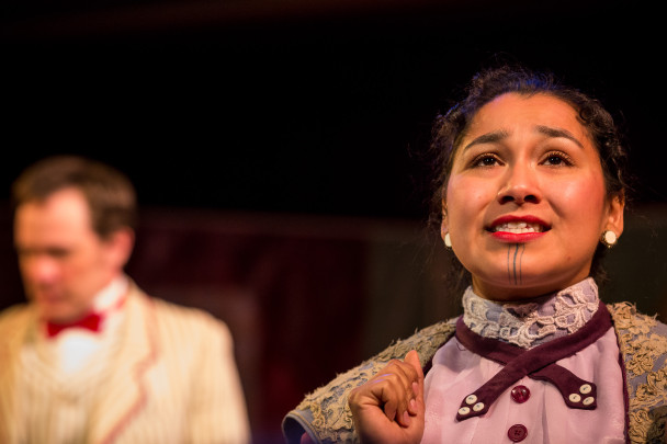 Marjorie performs a scene in The Importance of Being Earnest