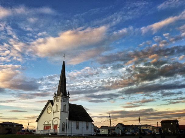 Evening over Old St. Joe's, Nome, Alaska