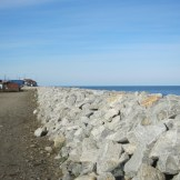 A Portion of Shishmaref's Sea Wall