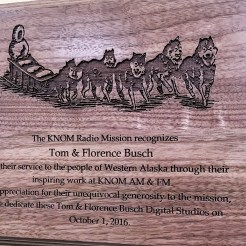 Digital Studios dedication plaque