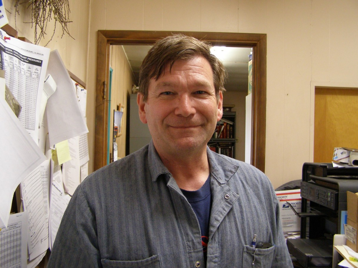 John Wayne Howe of Alaska Independence Party is running to be Alaska's representative in the U.S. Senate. (Photo from John Wayne Howe's campaign website, used with permission)