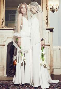 For the fashionable bride, Reformation bridal style
