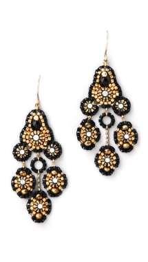 Gorgeous baroque inspired earrings