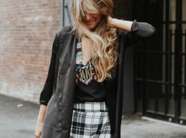How to Wear: Statement Plaid