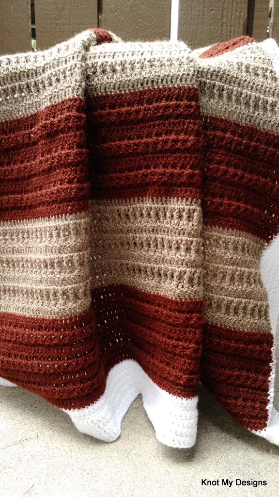 Crochet StemCell Throw/Blanket/Afghan Free Pattern for you - Knot My Designs
