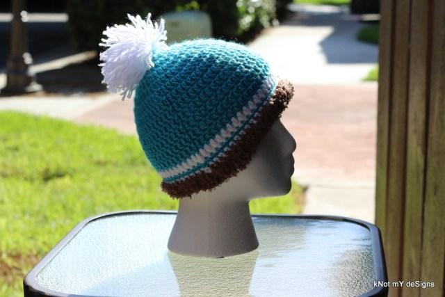 Winter/Fall Seasoned Crochet Toddler's Furloop Beanie Free Pattern - kNot mY deSigns