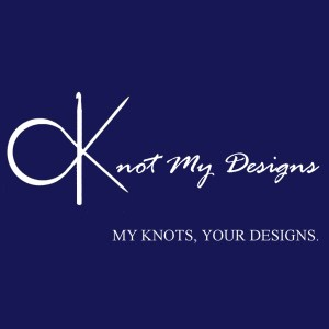 Knot My Designs (KMD) Full Official Logo - My Knots, Your Designs.