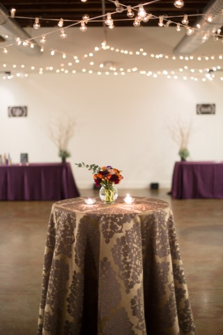 Damask Table Coverings