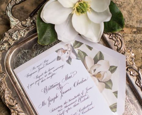 Inspiration from a Raleigh Wedding/Event Planner: Creative Calligraphy Uses for Your Wedding
