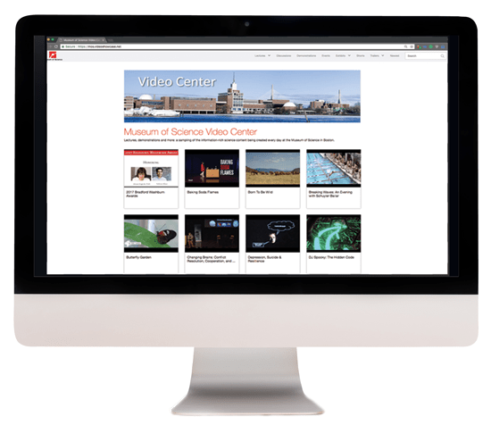 Organize and track video presentations in a video portal