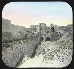 """Holy Land - Pool of Bethesda, Jerulsalem"" by Jenny King Mellon (2009), shared under a Creative Commons Attribution License"