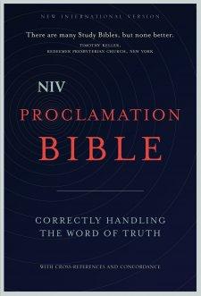 NIV Proclamation Bible: The Best Non-Study-Bible Study Bible