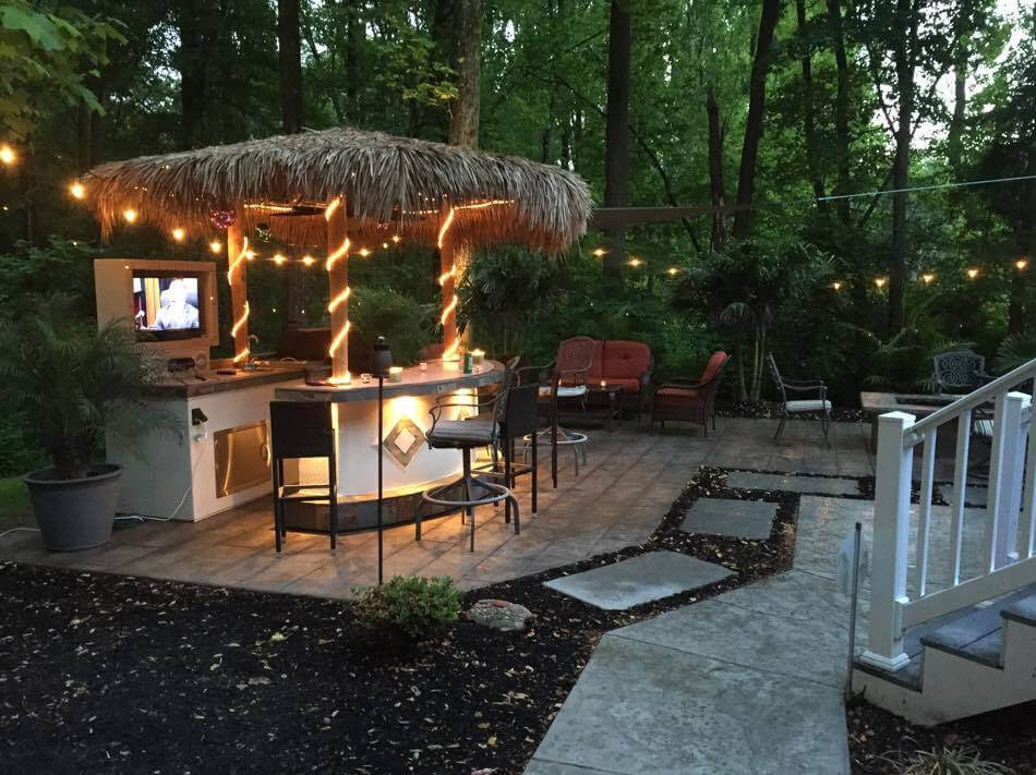 outdoor kitchens orlando undermount kitchen sink sizes and grilling systems your own private oasis