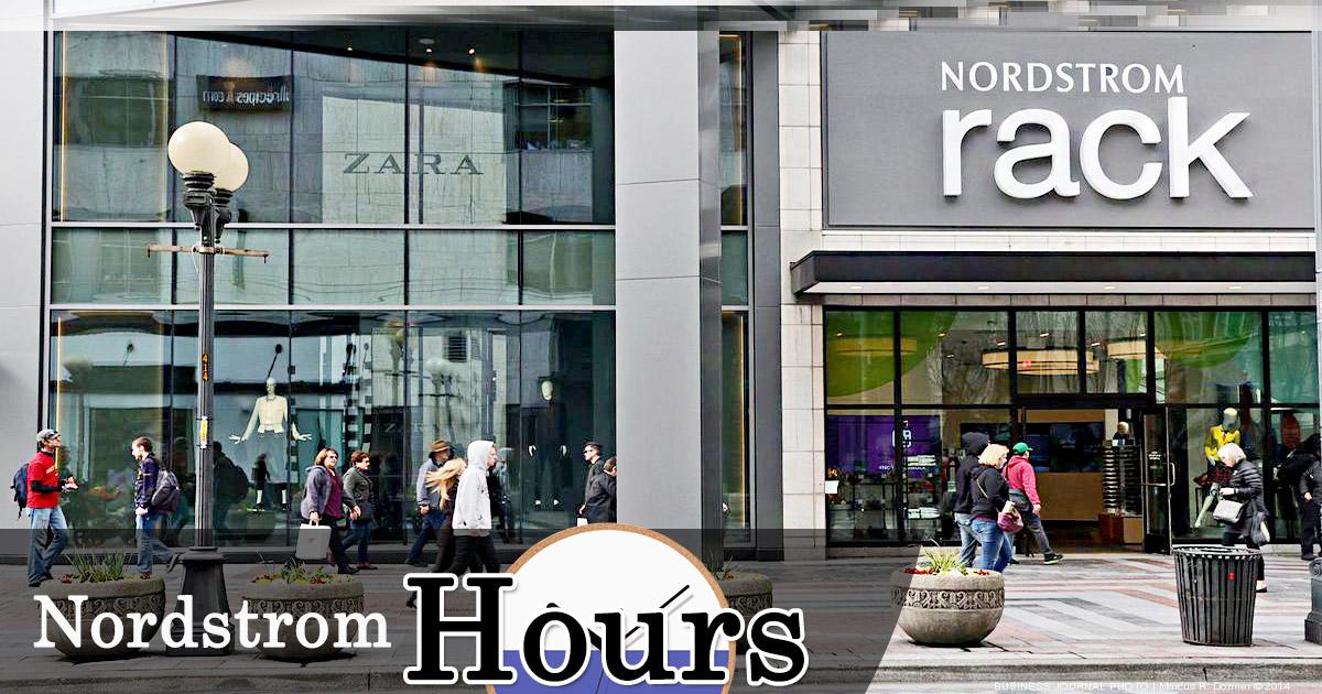 nordstrom rack hours of working