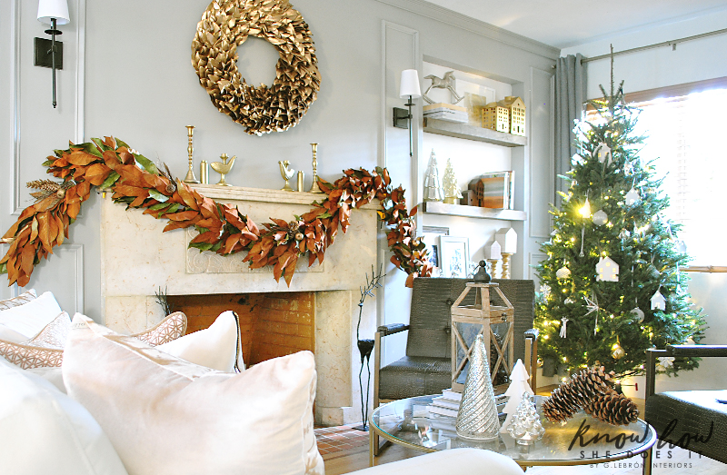 Holiday Small Home Tour living room 1