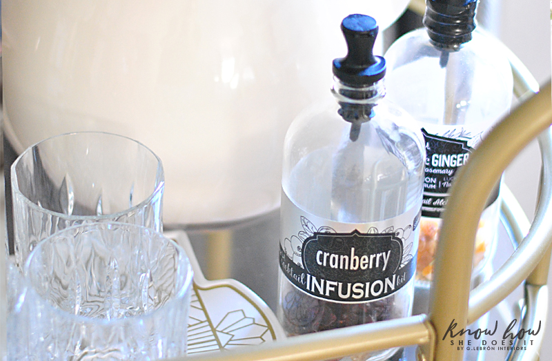 Cocktail infusion kit