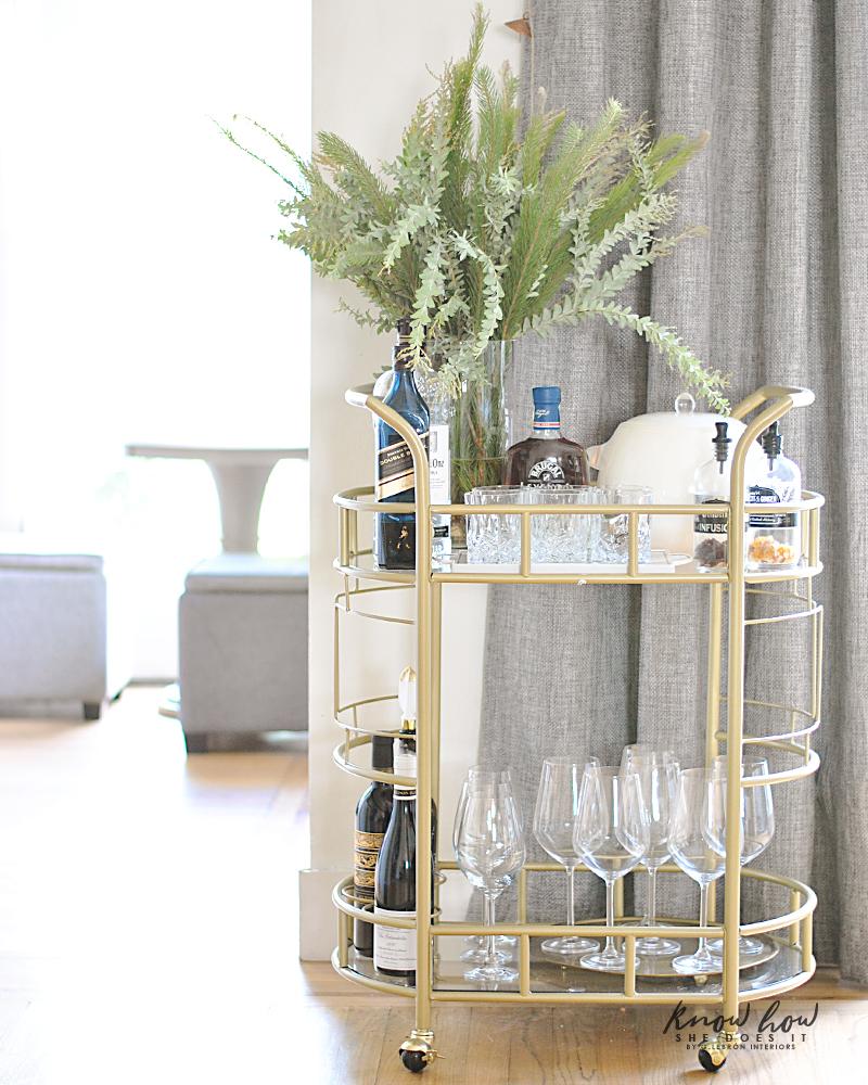 Drinks Bar Cart