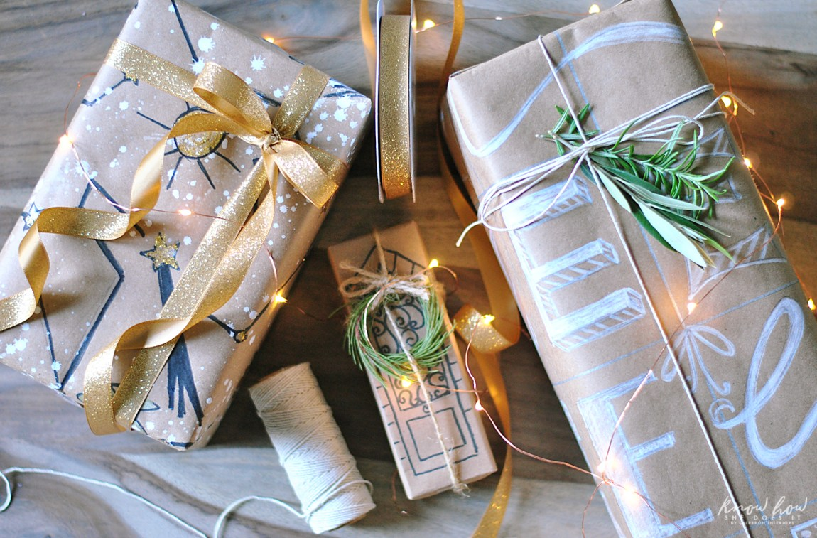 Personalized Gift Wrapping Paper 2