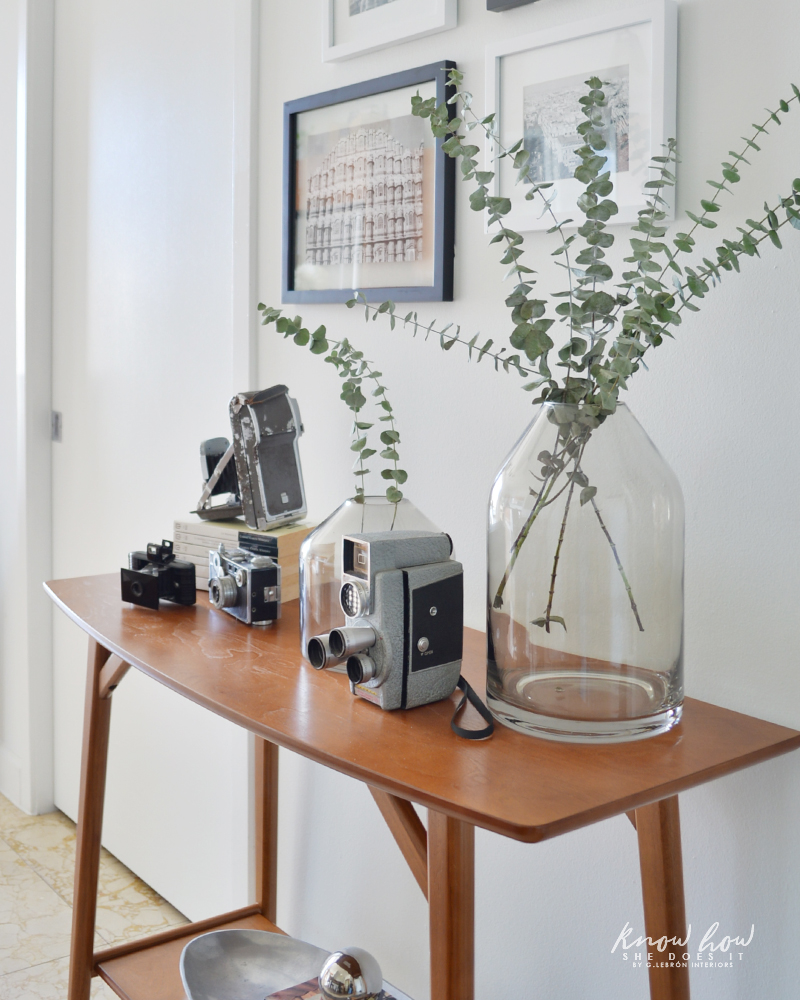 How to take advantage of a small space Console