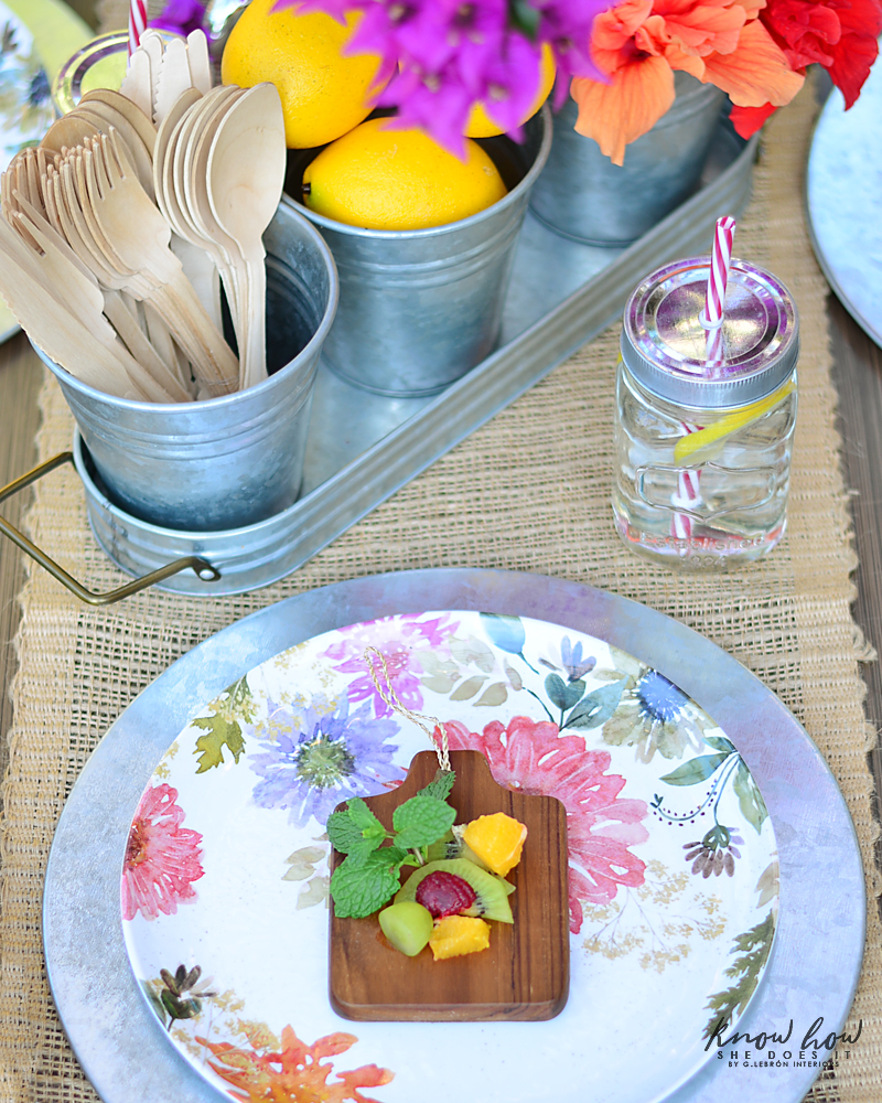 Bringing simple spring decor to outdoor entertaining Fruit Salad 2