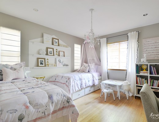 Bringing Happiness Girls Room featured