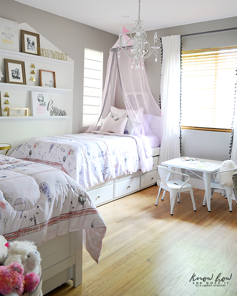 Bringing Happiness Girls Room bedroom full 1