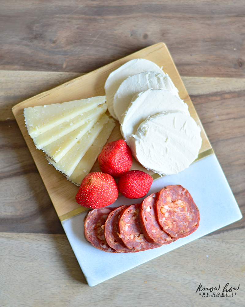 Simple Gifts Small Cheese Board 1