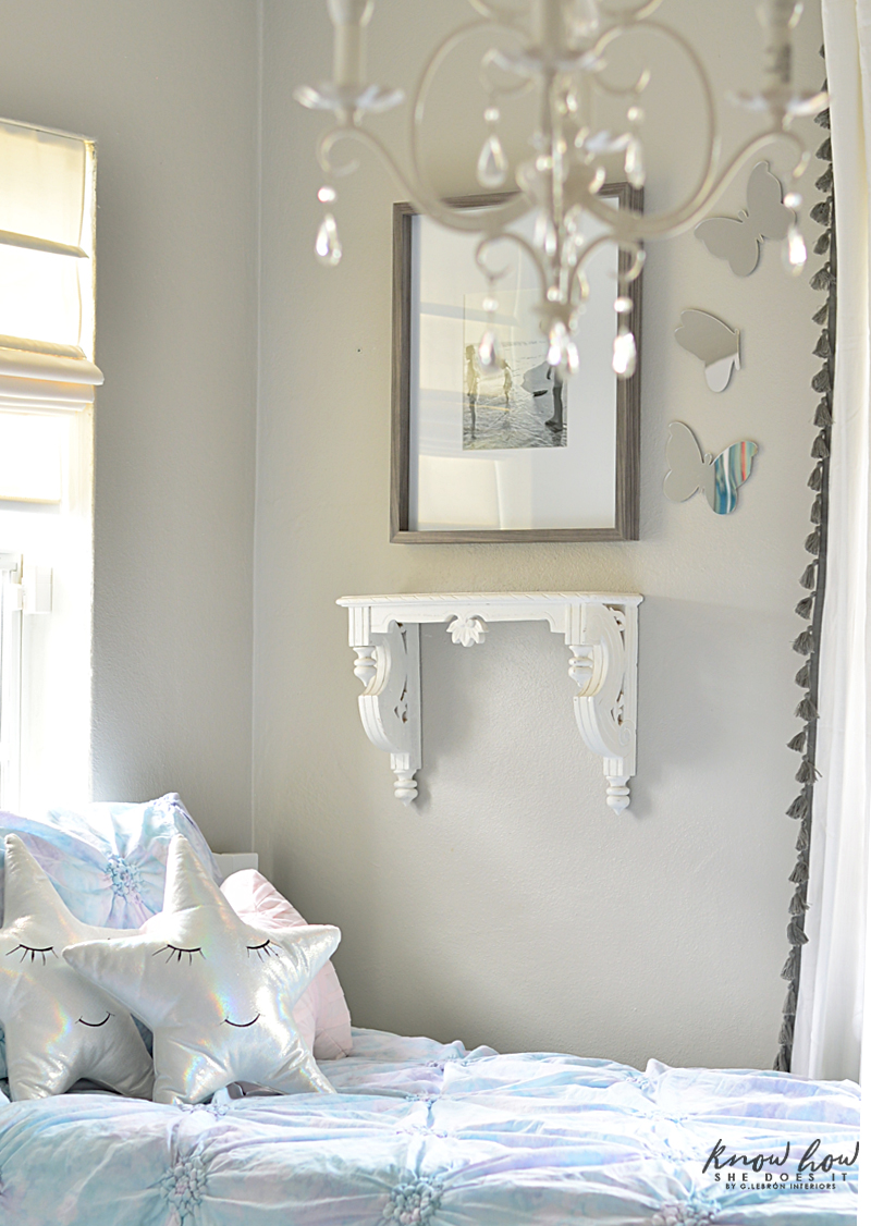 Kids Bedroom Refresh Tips Mirror Butterflies