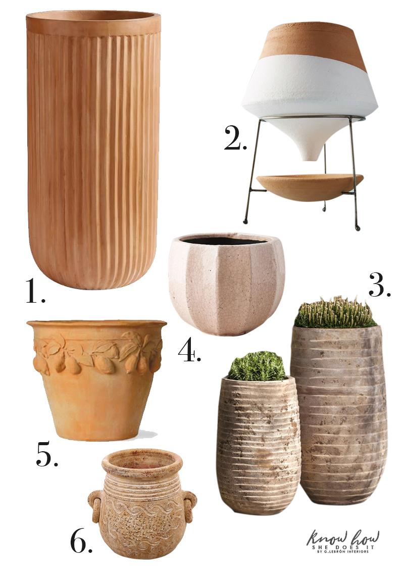 Natural instinct in design terra-cotta planters 3