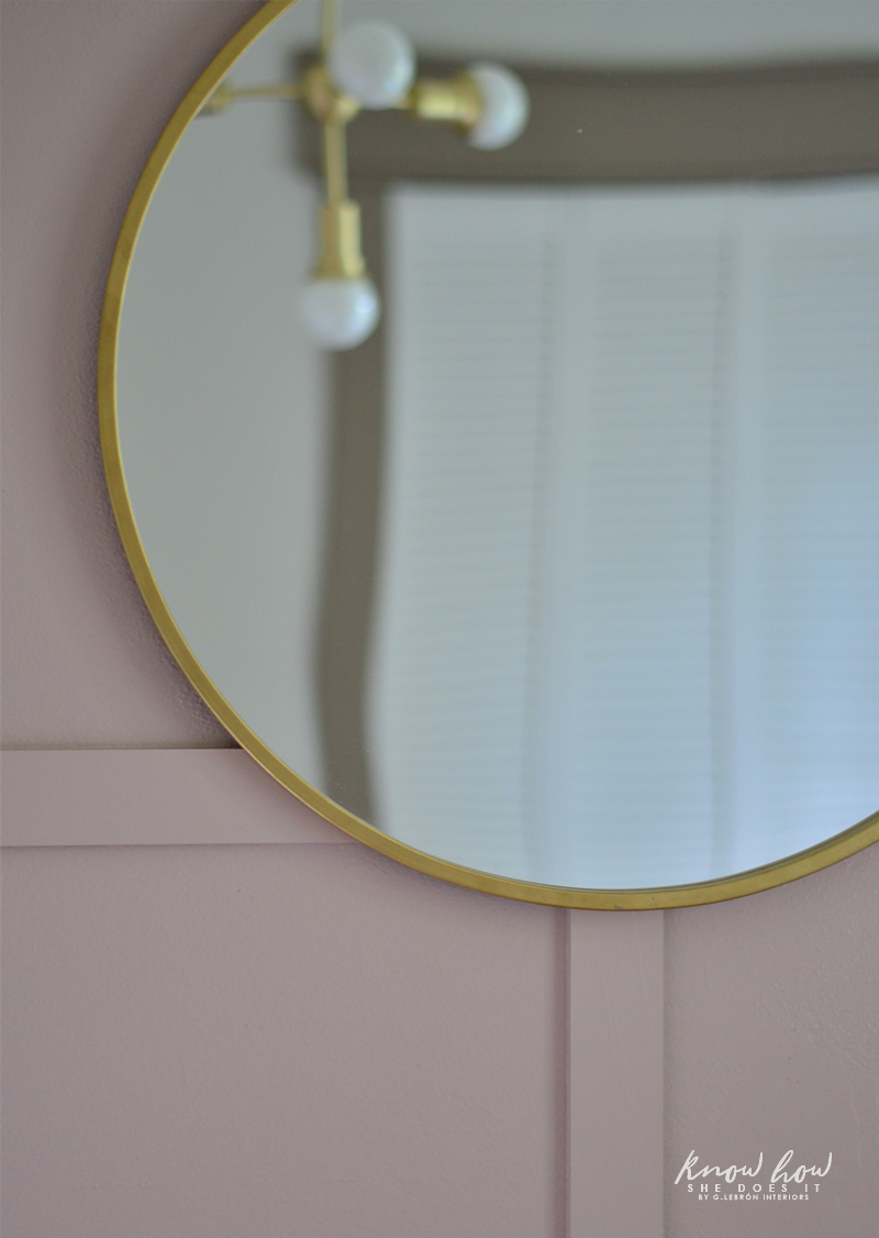 Project Color App Girl's Bedroom Mirror