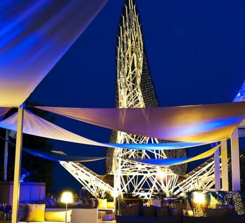 terraza hotel arts