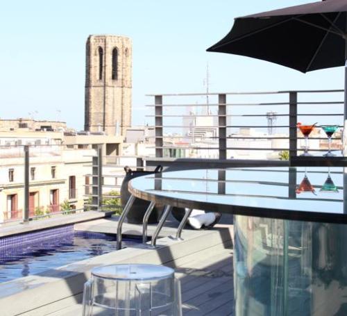 terraza hotel bagues barcelona