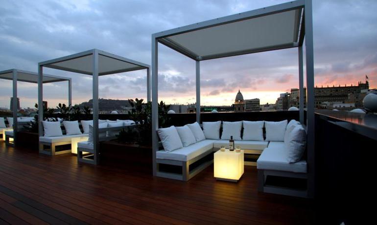 terraza hotel ohla barcelona