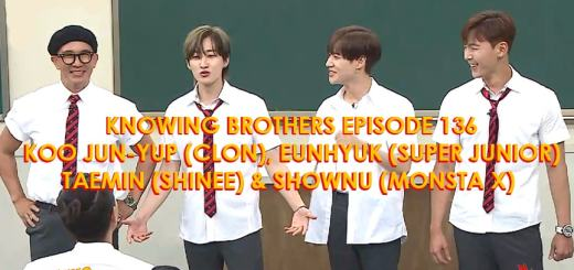Knowing-Brothers-136-Koo-Jun-yup-Clon-Eunhyuk-Super-Junior-Taemin-Shinee-Shownu-Monsta-X