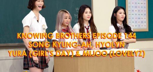 Knowing-Brothers-144-Song-Kyung-ah-Hyolyn-Yura-Mijoo