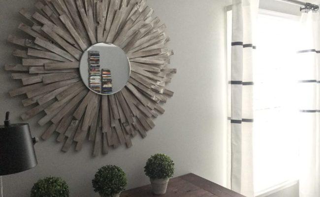 Sunburst Mirror Diy Cheap And Creative Wall Art With Wood