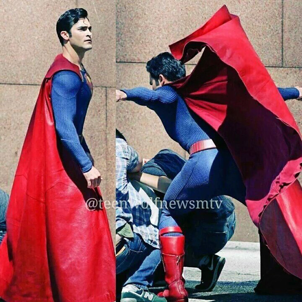 Pics and Video of Tyler Hoechlins Superman on Supergirl  Know It All Joe